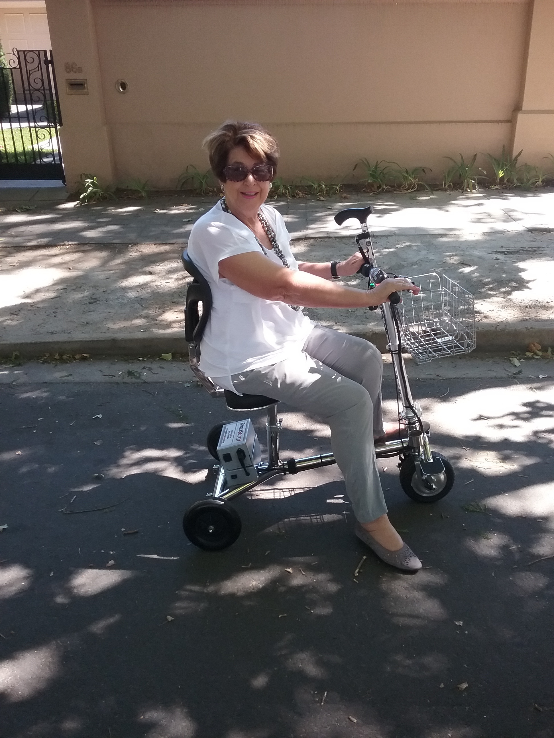 The Compact Folding Smartscoot Mobility Scooter In Australia